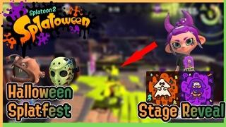 INK RAILS? Splatoon 2 Halloween Splatfest Stage Reveal