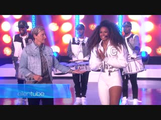 Ciara Levels Up with Her Amazing Performance телешоу Эллен ДеДженерес, Бербанк, США.