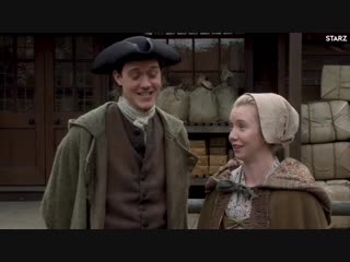 Outlander - Interview with César Domboy and Lauren Lyle - STARZ