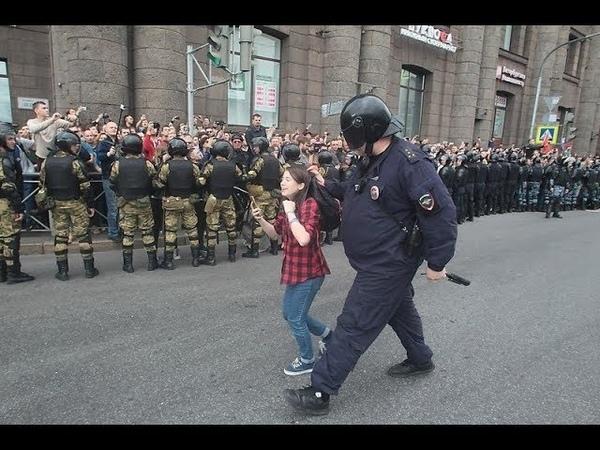 Столкновения протестующих с полицией 2017-2018! БЕССРОЧКА, НАВАЛЬНЫЙ, УДАЛЬЦОВ, МИТИНГИ!