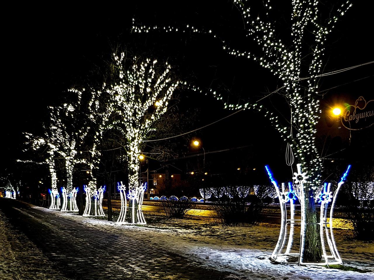 """Посмотрите, как красиво выглядит парк Мира на Ленинградской у """"Савушкиного"""""""