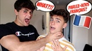 SPEAKING ONLY FRENCH TO MY BOYFRIEND FOR 24 HOURS (Gay Couple Pranks)