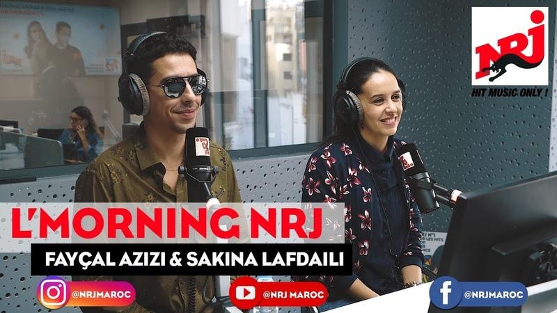 K'lma Band (Fayçal Azizi Sakina Lafdaili) f L'MORNING NRJ Maroc