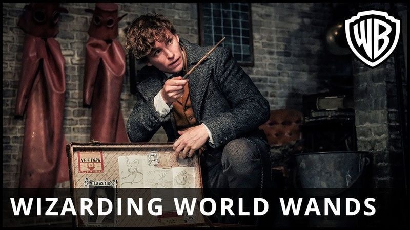 Fantastic Beasts: The Crimes of Grindelwald – Wizarding World Wands Supporting Lumos