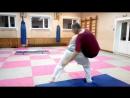 Тренировка по Ушу 11 09 18 Отработка бросков Саша кидае Валеру выхватом ног в разноим стойке