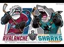 НХЛ Кубок Стэнли 2019 Сан Хосе Шаркс Колорадо Эвеланш 2 раунд матч №1 канал SN