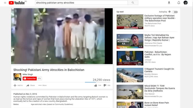 The video is available on youtube but mine was removed. Hypocrisy of CIA
