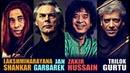 L Shankar Jan Garbarek Zakir Hussain Trilok Gurtu Live in Frankfurt 1984