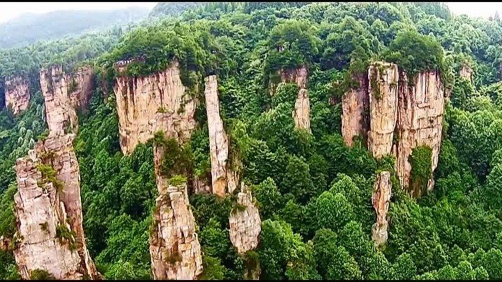 Национальный парк Чжанцзяцзе или горы Аватара, Китай