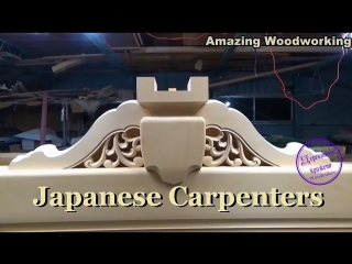 Amazing japanese carpenters woodworking are crazy