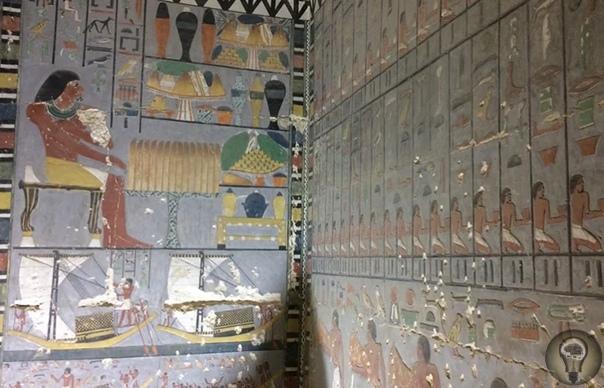 Египет, пристанище таинственной королевы В Саккаре, в 30 км к югу от Каира, недавние открытия вносят важный вклад в знание исторического периода конца Старого Царства. Во время исследования в