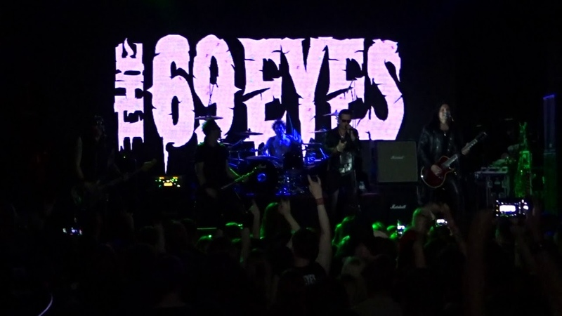The 69 Eyes - Betty Blue (Live at St. Petersburg 16.11.2018 - AURORA CONCERT HALL)