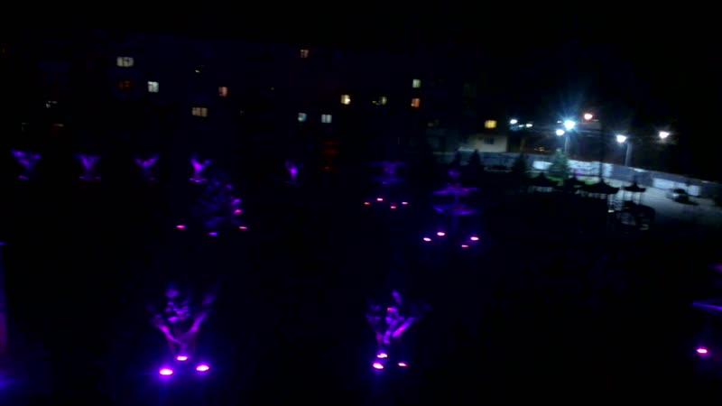 26.10.2018 23:07 Настройка подсветки деревьев перед официальным открытием площади(1)