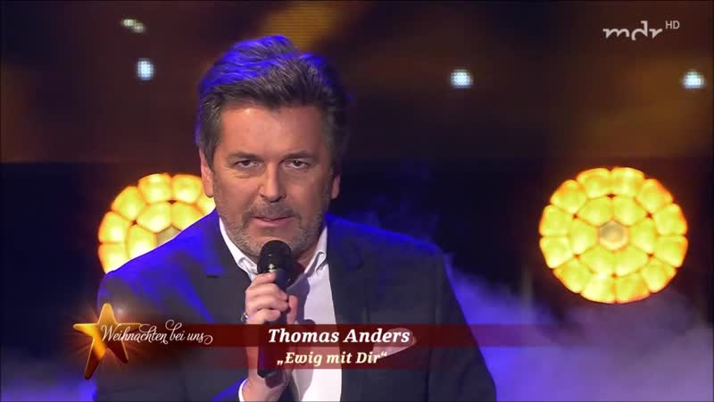 Thomas Anders. Ewig Mit Dir, Do They Know Its Christmas (Weihnachten bei uns, MDR 08.12.2018) MTRF RUS SUB