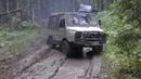 Дизельные советские внедорожники ЛуАЗ-969 Волынь , УАЗ-469 и ГАЗ-69 на бездорожье Off Road