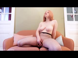 Sarah calanthe [pantyhose, amateur, redhead, naughty, dildo, pussy, fuck, sexy, nude, booty, fishnet, tits, orgasm, innocent]