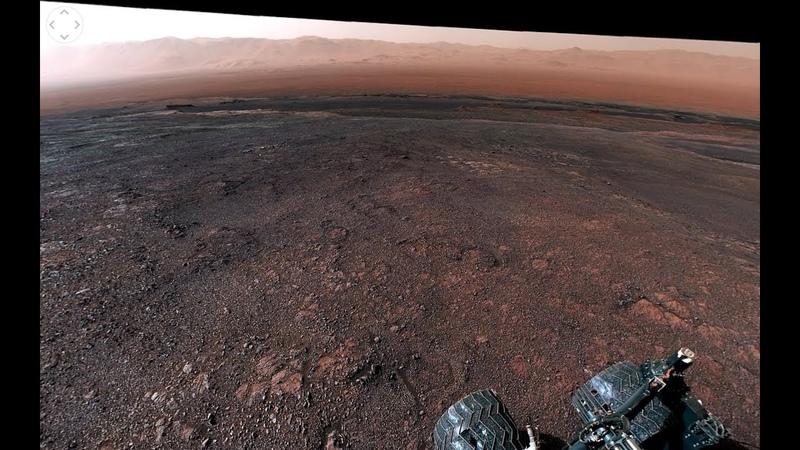 NASA's Curiosity Mars Rover Departs Vera Rubin Ridge 360 View