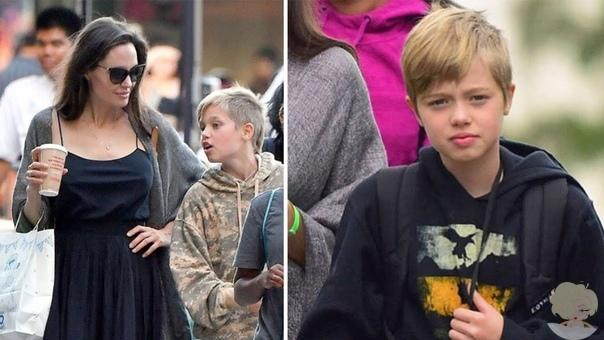 Слухи: Шайло Джоли-Питт устала от скандального развода родителей и хочет жить с бабушкой и дедушкой