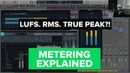Levels and Loudness Metering RMS, LUFS and True Peak