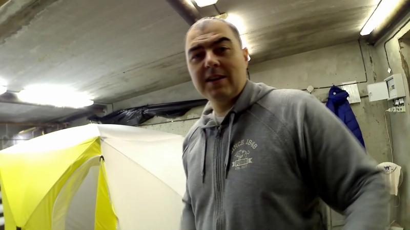 Обзор Палатка зимняя СТЭК двухслойная