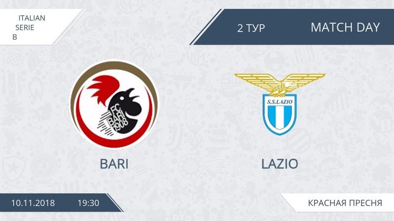AFL18. Italy. Serie B. Day 2. Bari - Lazio