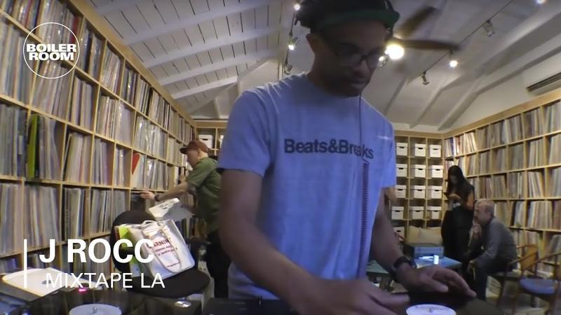 J Rocc Electro, Breaks, Disco and Hip-Hop Mixtape | Boiler Room LA