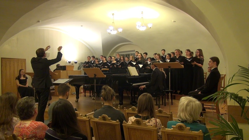 Rossini-Petite messe solennelle in Saint-Petersburg conservatory,15.11.18