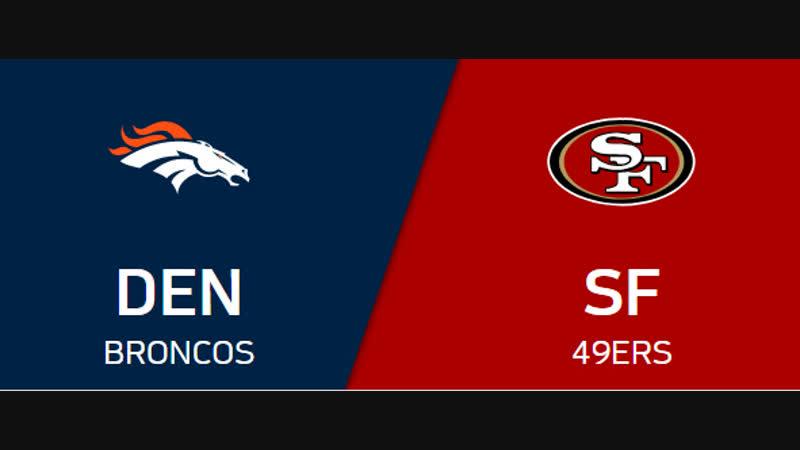 NFL 2018-2019 / Week 14 / Denver Broncos - San Francisco 49ers / EN