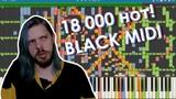 Написал песню на 18000 нот. BLACK MIDI DARK МИДИ