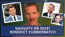 Benedict Cumberbatch Rates His Co-Stars | Naughty Or Nice?