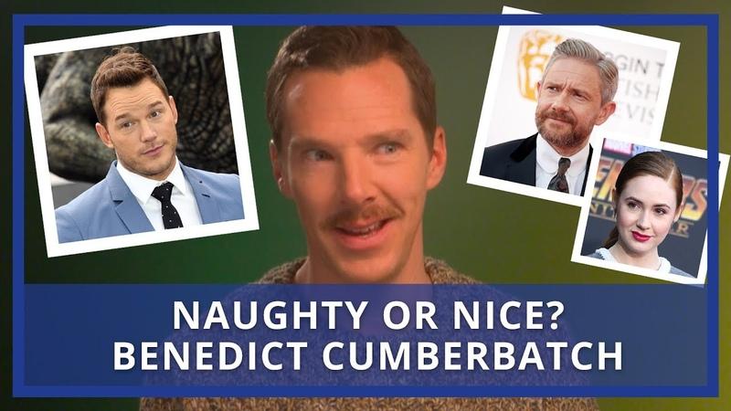 Benedict Cumberbatch Rates His Co-Stars | Naughty Or Nice