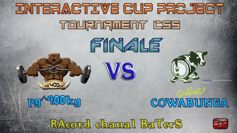 INTERACTIVE CUP PROJECT CS:S V90 [ANTARES! VS ṕǥ^400kĝ]