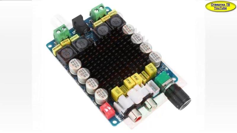 Сможет ли усилитель за 6$ раскачать колонки S90 Амфитон 35ас 18 TPA3116D2