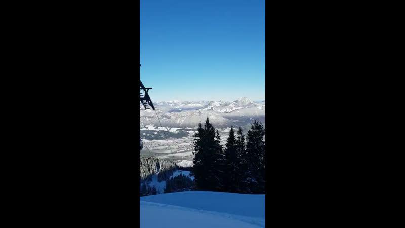 Kitzbuhel Alps-skiind and TyrolAustria