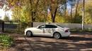 Белый Volvo S90 в свадебном украшении вариант 22 @auto-na-prokat