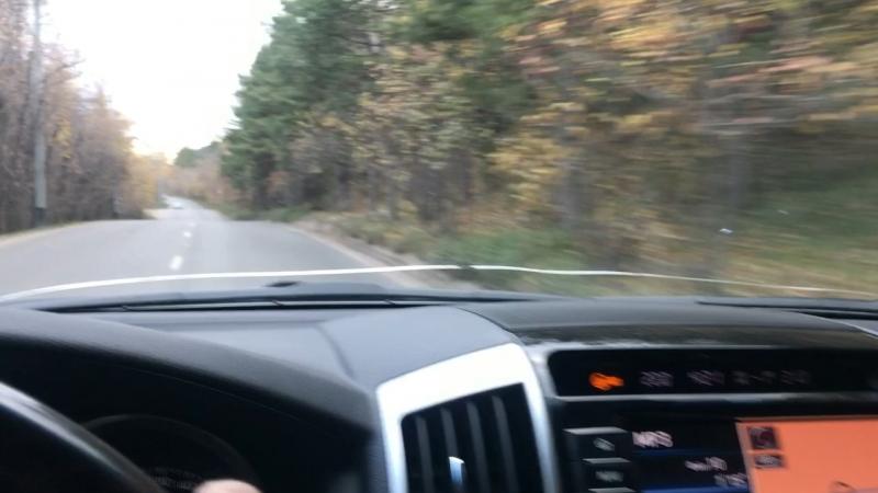 Осенняя дорога в Удачный!