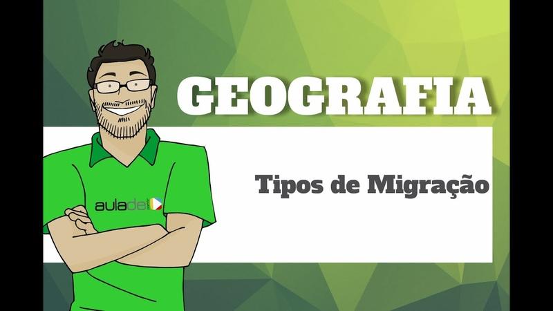 Geografia - Tipos de Migração