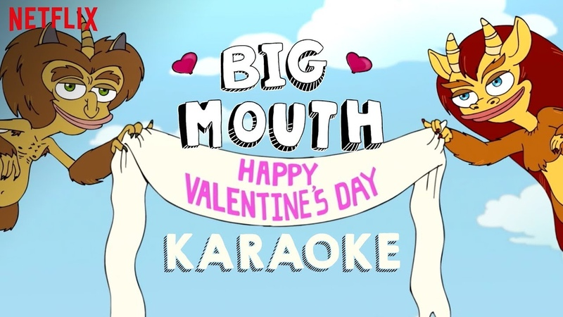 Big Mouth | My Furry Valentine Sing-Along | Netflix