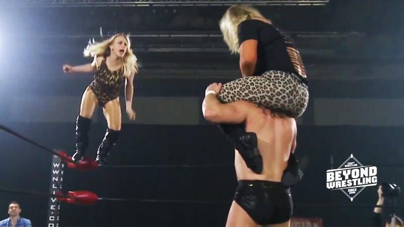 [Free Match] Penelope Ford Joey Janela vs. Session Moth Orange Cassidy (Intergender Wrestling)