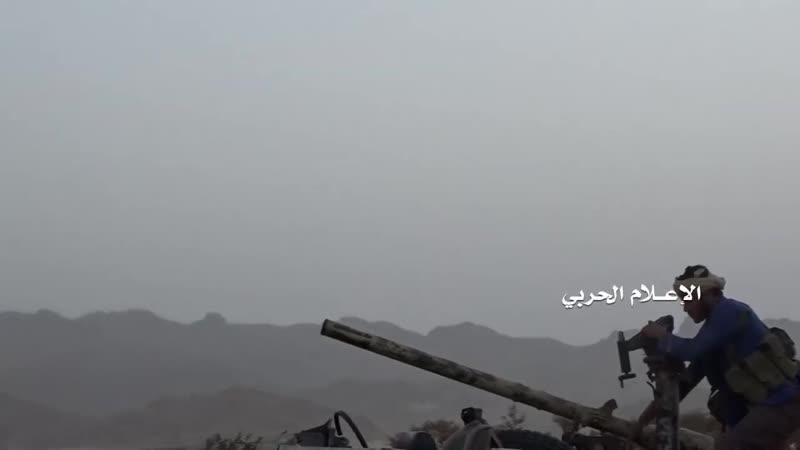 Подбитый Spartan на фронте Аль-Бука.