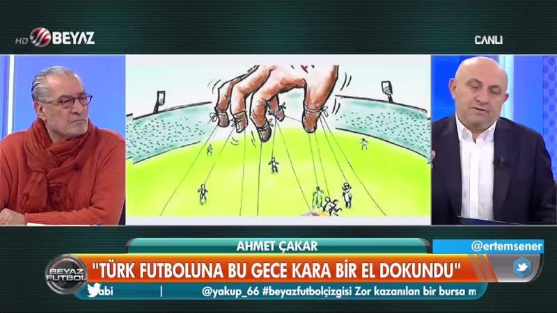 Ahmet Çakar canlı yayında Cüneyt Çakıra seslendi Eğer bu işte senin....