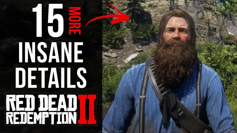15 INSANE Details in Red Dead Redemption 2 Part 5