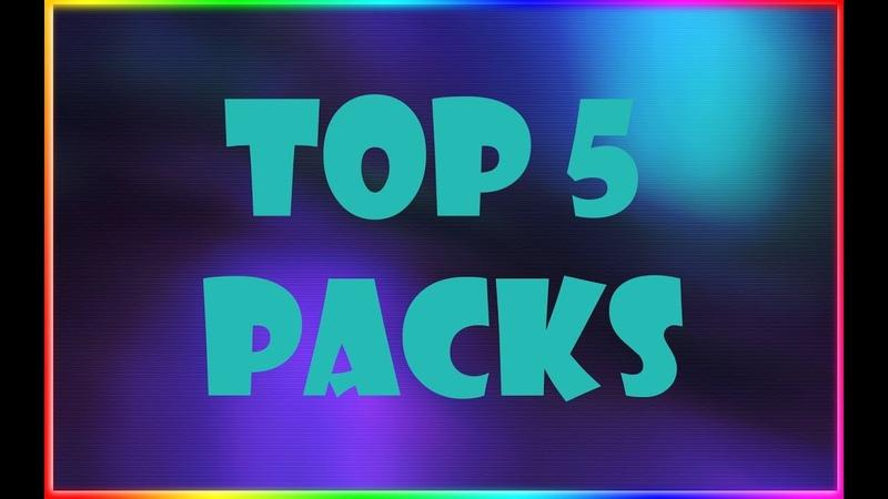 ТОП 5 ДЕФОЛТНЫХ РЕСУРСПАКОВ | Steklie | Texure Pack