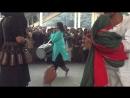 Pakistani sufi drummer musician at Data Darbar