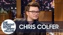 Chris Colfer Got Read by a Shade-Throwing Pet Psychic