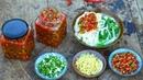 【二米炊烟】用新鲜辣椒做的手工辣椒酱,好看又好吃,香到流口水