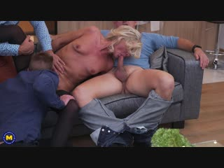 Sexy hairy housewife gets fucked in both holes by three guys and all her boyfriend can do is watch  - http://www.vidz7.com