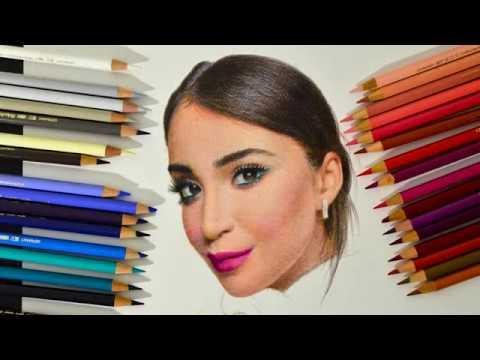 Ценные советы по рисунку портрета цветными карандашами😱😵😇