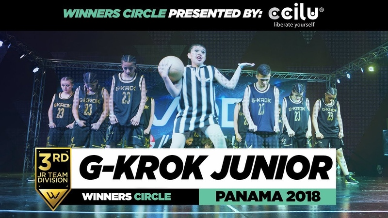 G-KROK JUNIOR   3rd Place JR Team   Winners Circle   WOD PANAMA 2018   WODPANAMA2018   Danceproject.info
