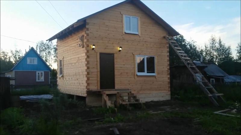 Дача в Архангельске. Почти закончили. Небольшой обзор по участку и дому.